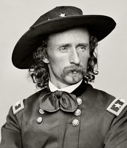 Fotografía de George Armstrong Custer