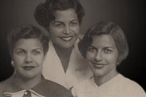 Fotografía de las hermanas Mirabal