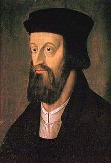 Retrato de Jan Huss