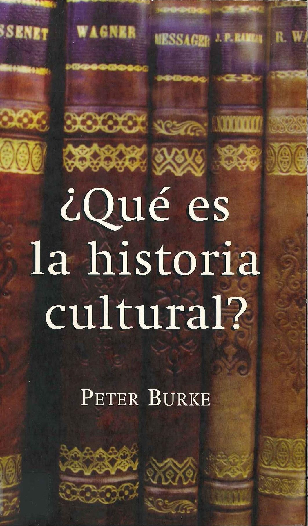 Portada de una obra fundamental de la Historia cultural como es esta de Peter Burke