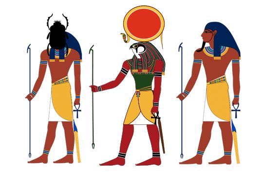 Imágenes de las tres representaciones dependiendo del momento del día