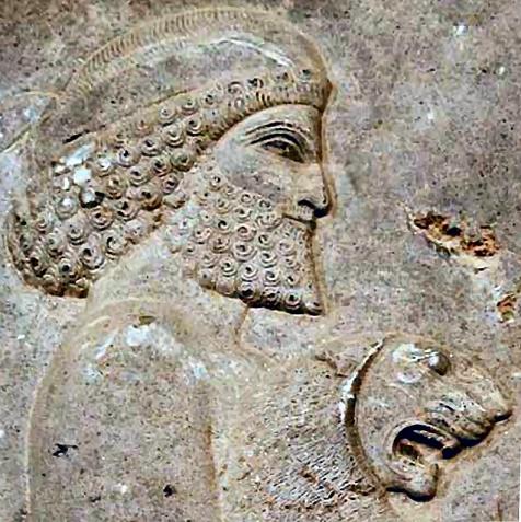 Relieve que muestra al rey elamita Shutruk-Nakhunte