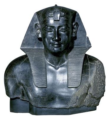 Representación de Ptolomeo I, fundador de la dinastía ptolemaica, como uno más de los reyes egipcios