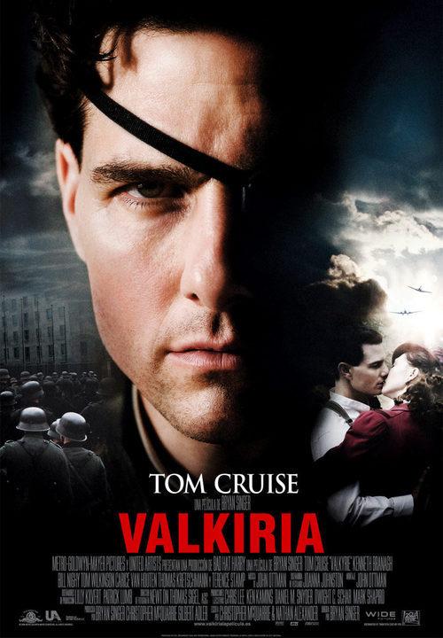 """Cartel en español de la película """"Valkiria"""""""