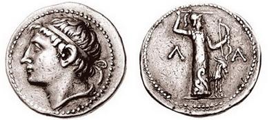 Moneda de plata del siglo III a.C., clave de la economía en la antigua Esparta