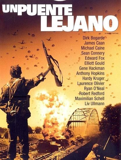 "Cartel promocional de ""Un puente lejano"""