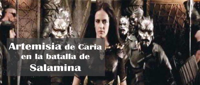 """Artemisia de Caria, interpretada por Eva Green en """"300: el origen del imperio"""""""