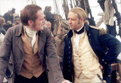 Paul Bettany y Russell Crowe, protagonistas de la película