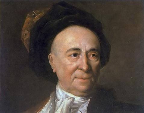 Retrato de Fontenelle hecho por Largillière