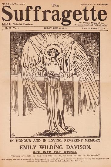 Edición de The Suffragette del 13 de junio de 1913