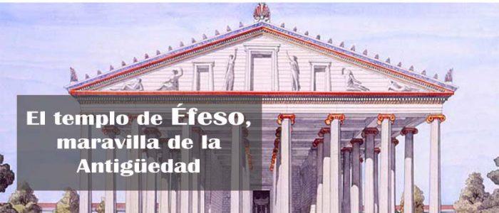 Reconstrucción del templo de Éfeso dedicado a Artemisa hecha por Jean Claude Golvin