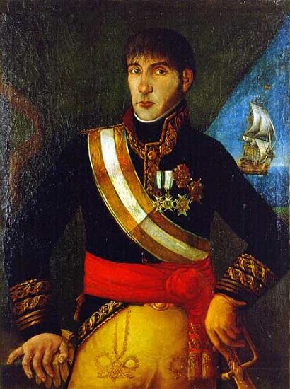 Baltasar Hidalgo de Cisneros, virrey del Río de la Plata a favor de España durante la revolución de mayo