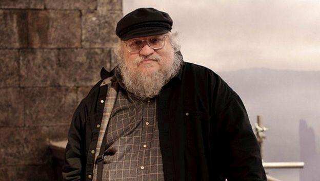 George R R Martin, creador de la saga Canción de Hielo y Fuego en la que se basa la serie Juego de Tronos
