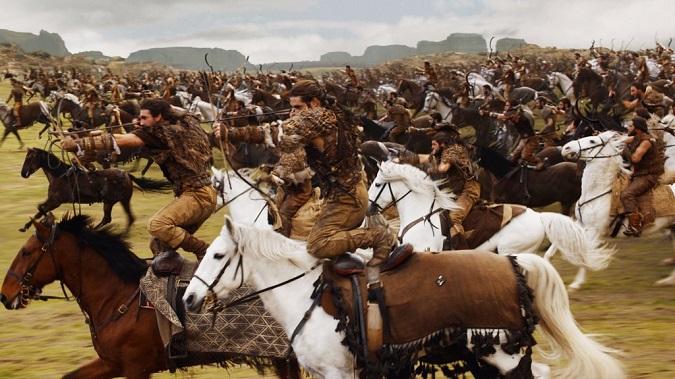 Dothrakis, personajes de Juego de Tronos