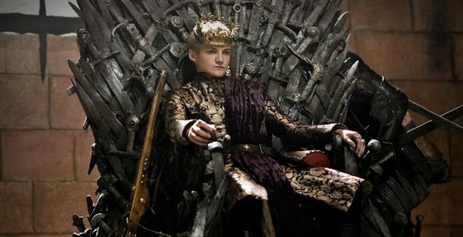 El rey Joffrey Baratheon, personaje de Juego de Tronos