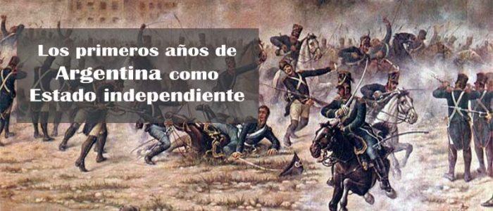 Cuadro que representa la batalla de San Lorenzo