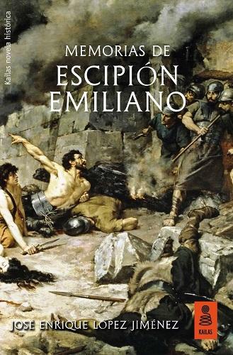 Portada del libro Memorias de Escipión Emiliano