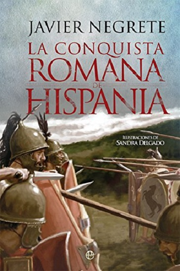 Portada del libro La conquista romana de Hispania