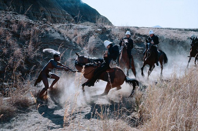 "Escena de lucha en ""Amanecer Zulú"""