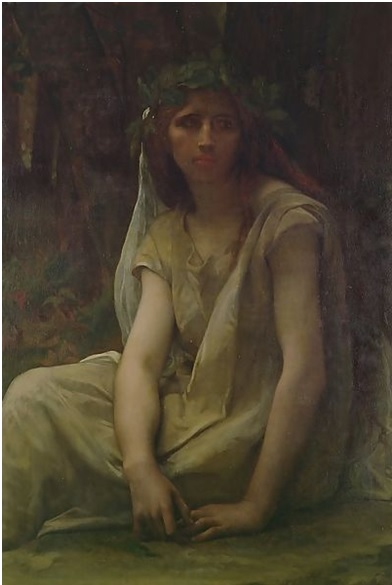 The Druidess, Alexandre Cabanel