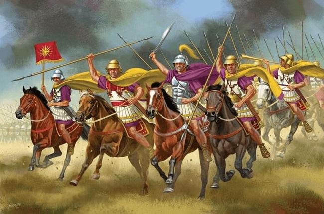 Caballería de élite del ejército macedonio, fundamental en la Tercera Guerra Sagrada