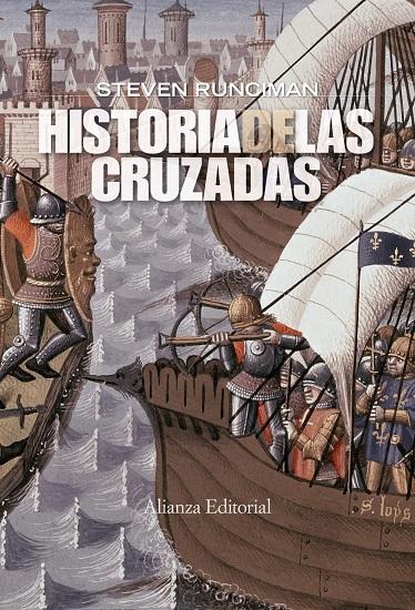 Portada de Historia de las Cruzadas, de Steven Runciman