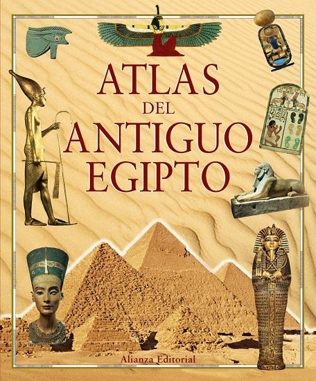 Portada de la obra Atlas del antiguo Egipto