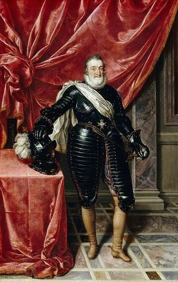 Enrique IV de Francia y III de Navarra, motivo de las guerras de religión